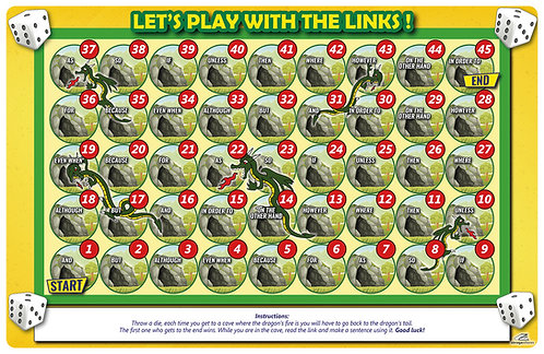 Tableros para juegos Let's play with the links