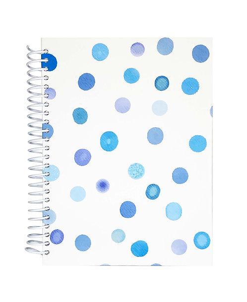 Libreta Manchas azules