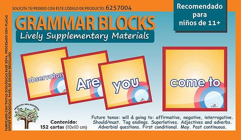 Bloques Gramaticales en inglés Recomendado Para Edades De 11+
