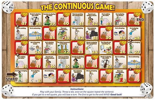 Tableros para juegos The Continuous game