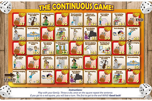 Tableros para juegos The Continuous game