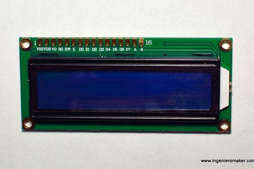 Pantalla LCD 16x2