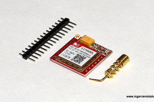 Módulo GSM Cuatribanda (SIM800L)