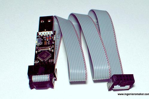 Programador de AVR por USB ISP (EvUSBASP)
