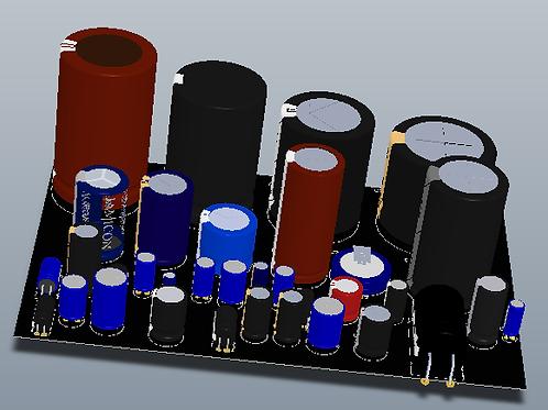 Librerías compatibles con Altium Designer de capacitores electroliticos