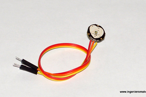 Sensor de pulso / ritmo cardiáco