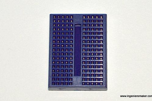Mini Protoboard 170 puntos, color azul