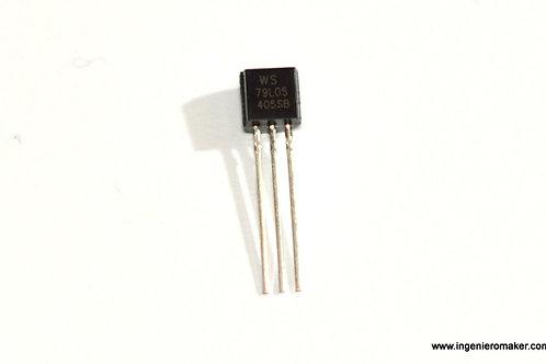 3 regulador de voltaje negativo -5V @ 100mA 79L05