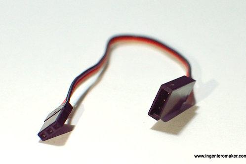 Extensión de cable 15cm para servomotores