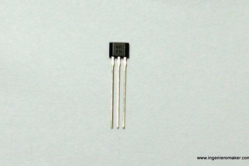 Sensor de efecto Hall con salida linear analógica