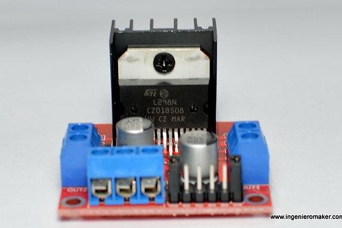 Sistema mínimo de driver L298N