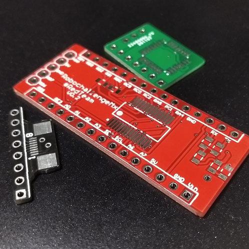 Servicio fabricación de circuitos impresos profesional menos de 5x5cm