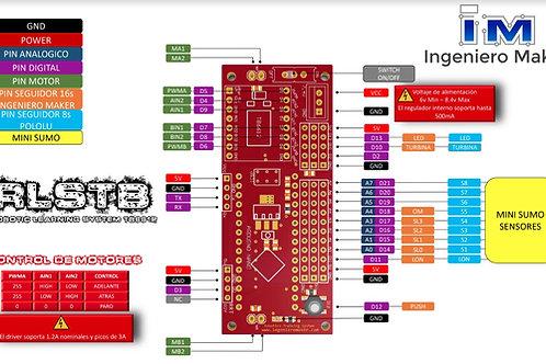 Pcb Para Seguidor De Linea Tb6612 Y Arduino Nano
