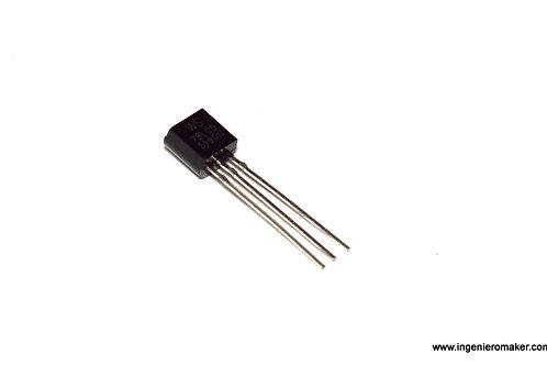 3 reguladorores de voltaje a 5V @ 100mA L78L05