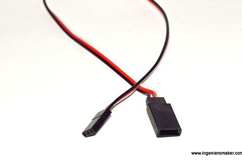 Extensión de cable 30cm para servomotores