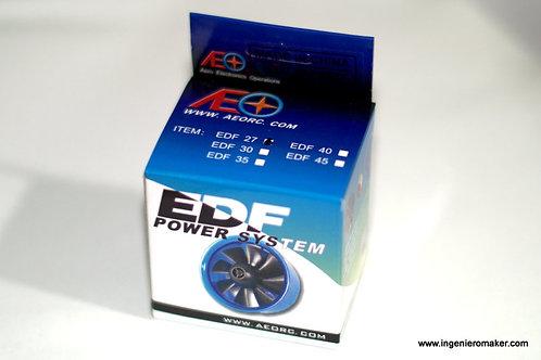 Turbina EDF27 11000kv CO5M Motor preensamblado