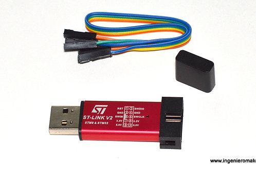 Programador Mini STLINK V2 para ARM