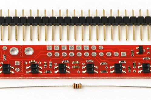 QTR-8A Arreglo de sensores optoreflectivos