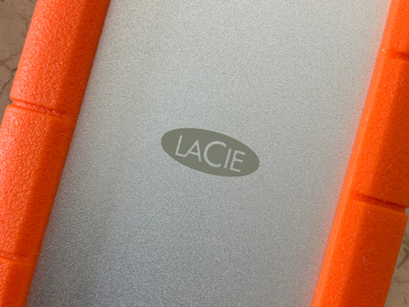LaCie 2TB Rugged USB-C - Love this new external drive