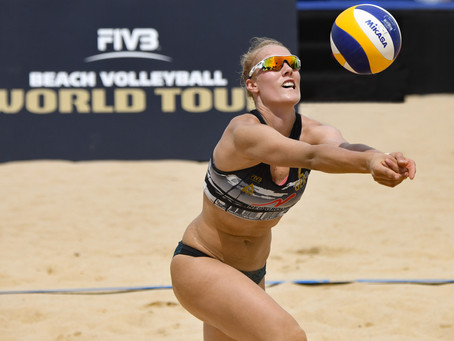 Nikon D850 - In action at the FIVB World Tour Singapore Open