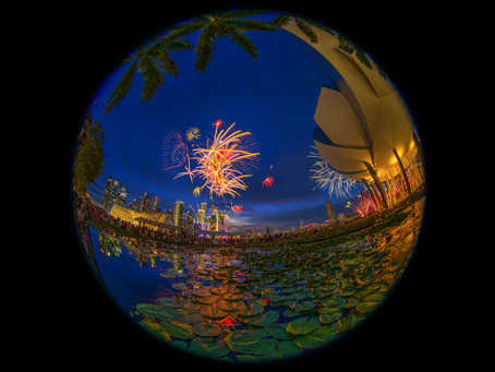 Celebrating Singapore's Birthday with the NIKKOR 8-15mm Fisheye Zoom