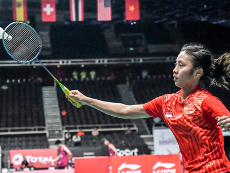 Nikon D850 at the BWF World Tour -  Singapore Open 2018