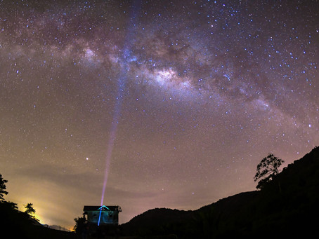 Milkyway & Landscape experience at Cameron Highlands , Malaysia