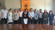 Project meeting at Facultad de Turismo in University of Malága