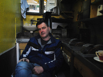 Photo Story: A Sharpener in Old Town of Sarajevo.