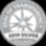 2019 Guidestar Silver Seal of Transparen