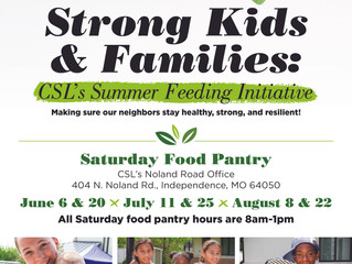"CSL Launches ""Strong Kids & Families"" Summer Feeding Initiative"