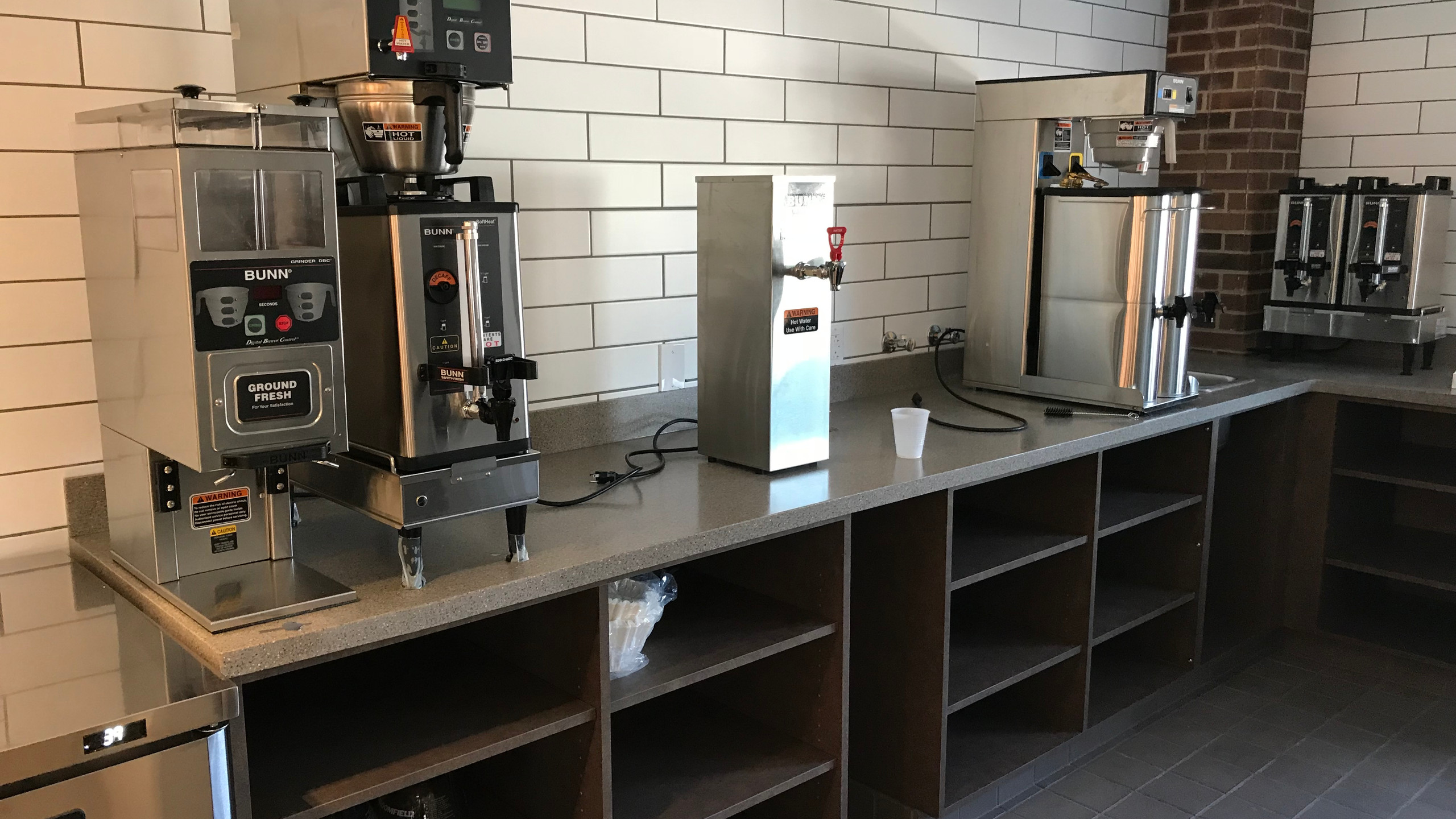 Coffee Prep Area