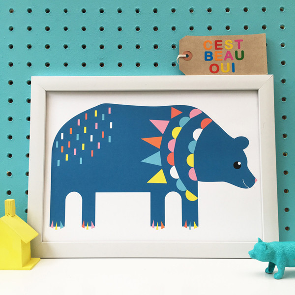 Cest Beau Oui  bear print.jpg