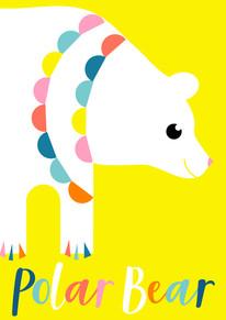 Animal Poster Polar Bear