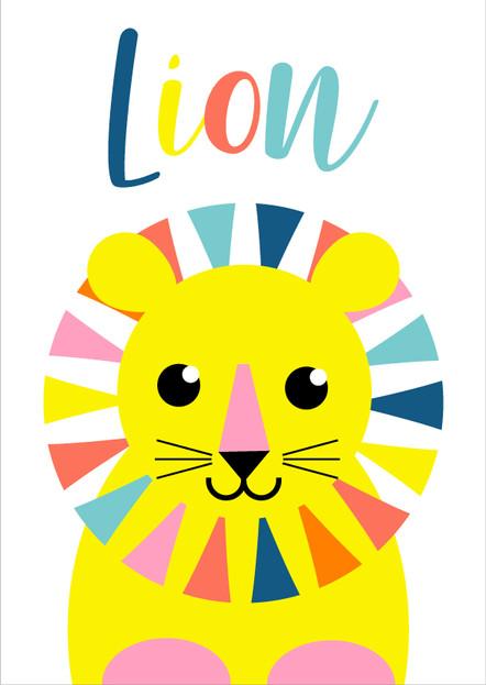 Animal Poster Lion