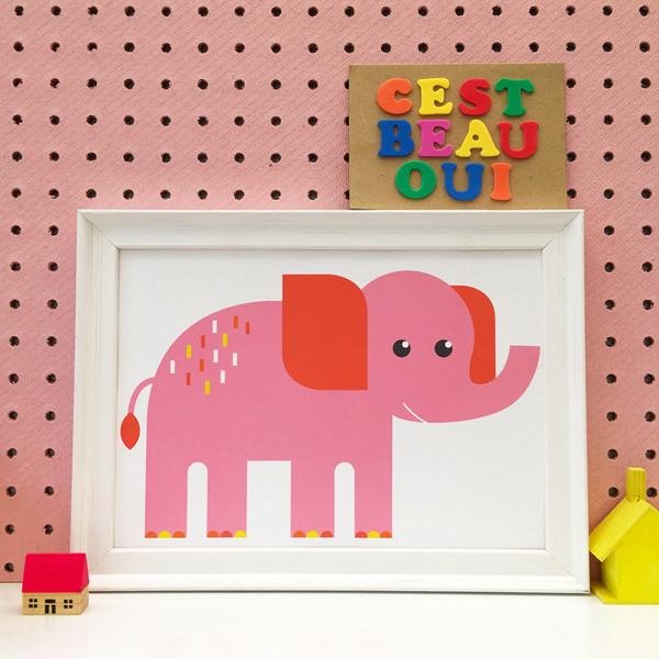 Cest Beau Oui elephant print.jpg