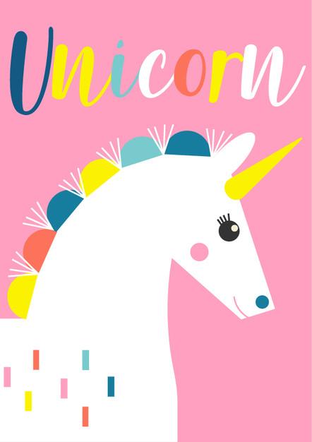 Animal Poster Unicorn