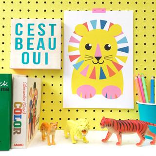 copyrighted image cest beau oui lionsit