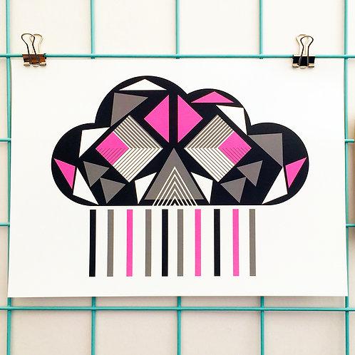 Geo Cloud Black