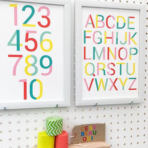 Alphabet + Numbers