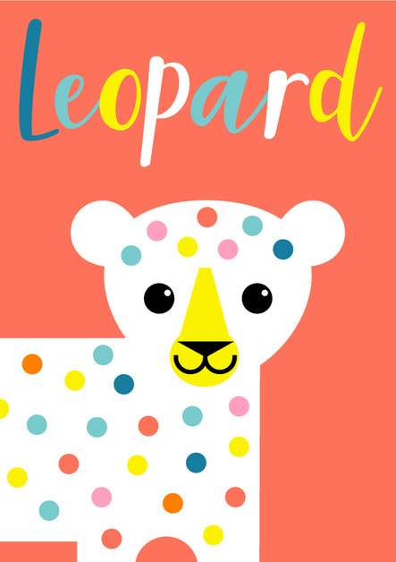 Animal Poster Leopard