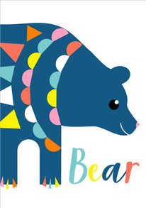 Animal Poster Bear
