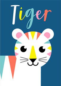Animal Poster Tiger