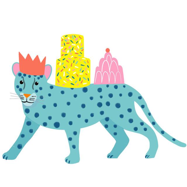 party leopard