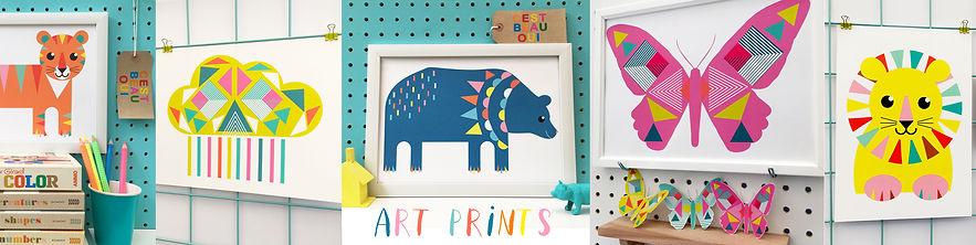 Kids art prints by Beau Oui?