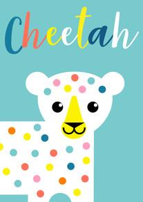 Animal Poster Cheetah