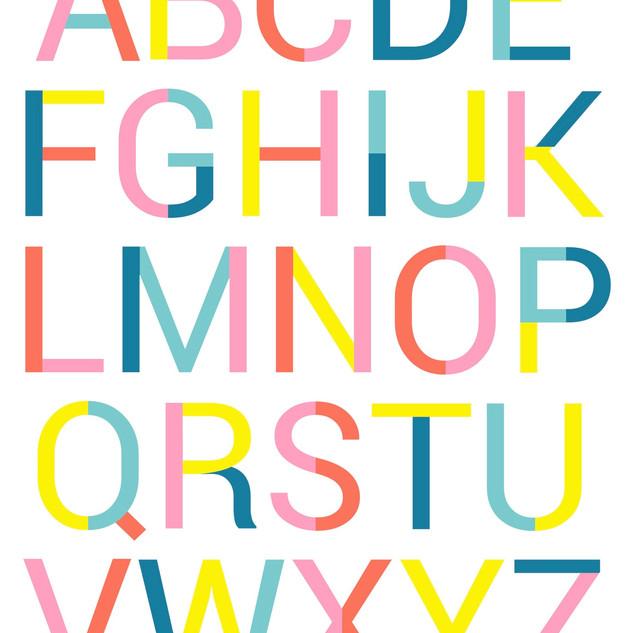 Beau Oui Font Alphabet