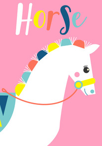 Animal Poster Horse