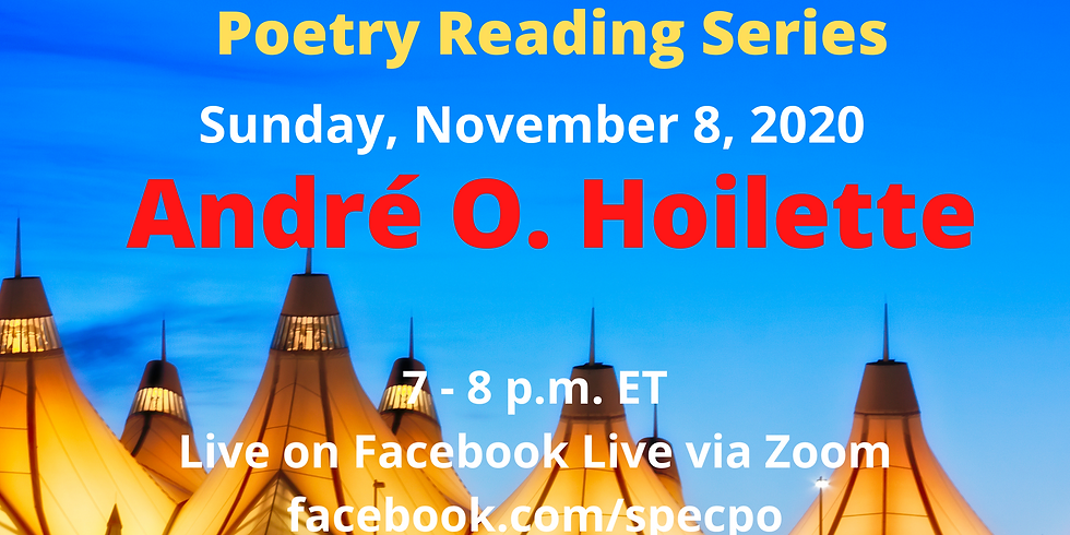 Speculative Sundays Poetry Reading Series Presents André O. Hoilette