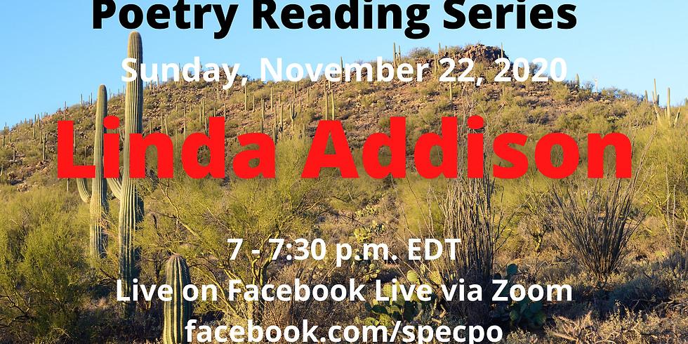 Speculative Sundays Poetry Reading Series Linda Addison